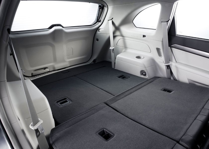2019 Chevrolet Captiva Trunk Dimensions