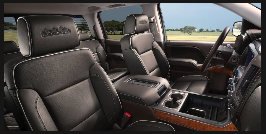 2019 Chevrolet Silverado Interior Images