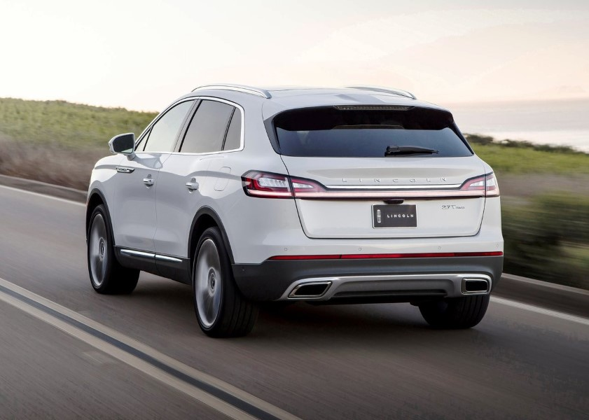 2019 Lincoln MKX Redesign Exterior