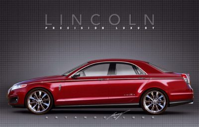 2019 Lincoln Town Car Redesig; Returns with Stunning Look