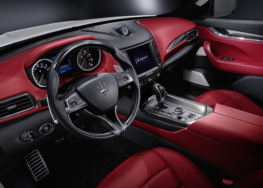 2019 Maserati Levante GTS Interior RED Colors