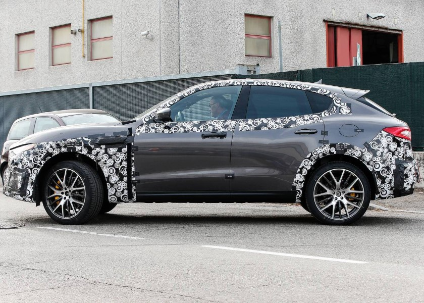 2019 Maserati Levante GTS Spied Images [UPDATE]