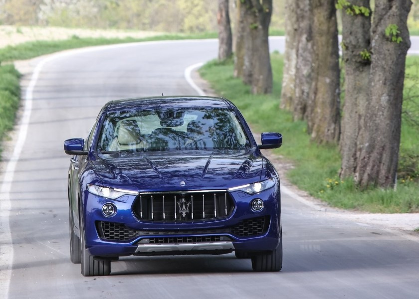 2019 Maserati Levante GTS V8 Engine Performance