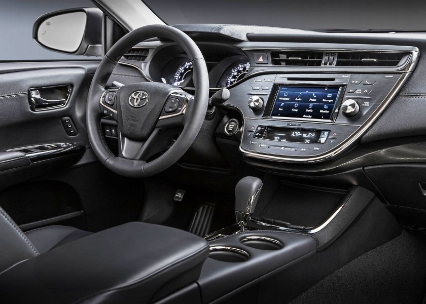 2019 Toyota Avalon Redesign Interior