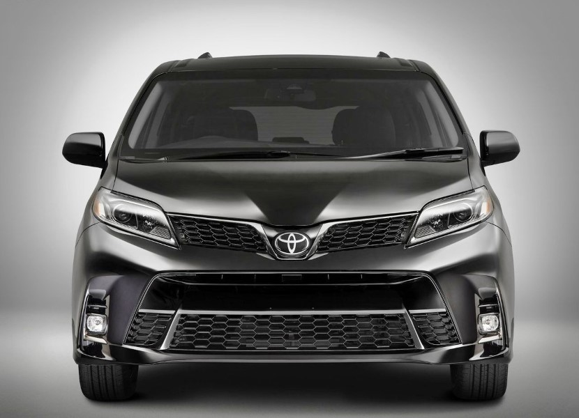 2019 Toyota Sienna Conpcet Exterior Changes