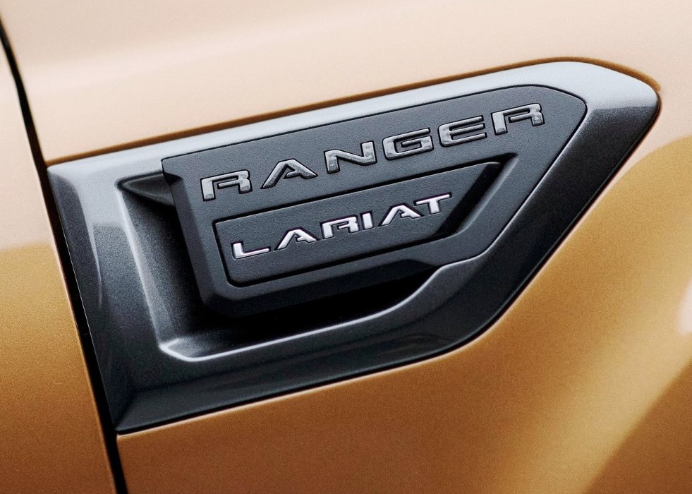 2019 Ford Ranger Lariat Model