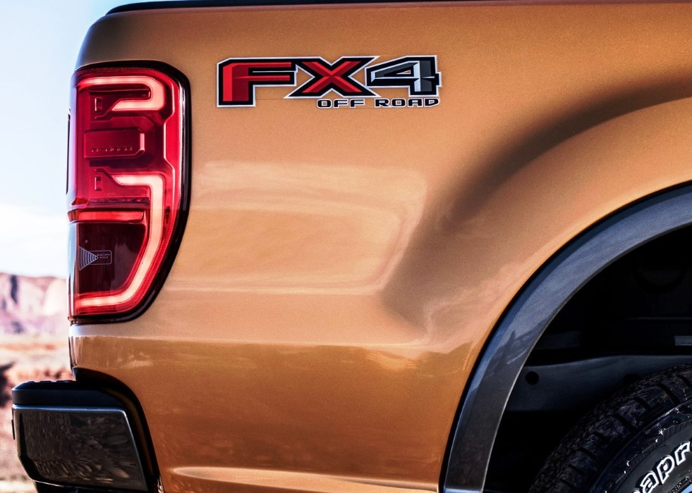 2019 Ford Ranger USA FX4 Off Road