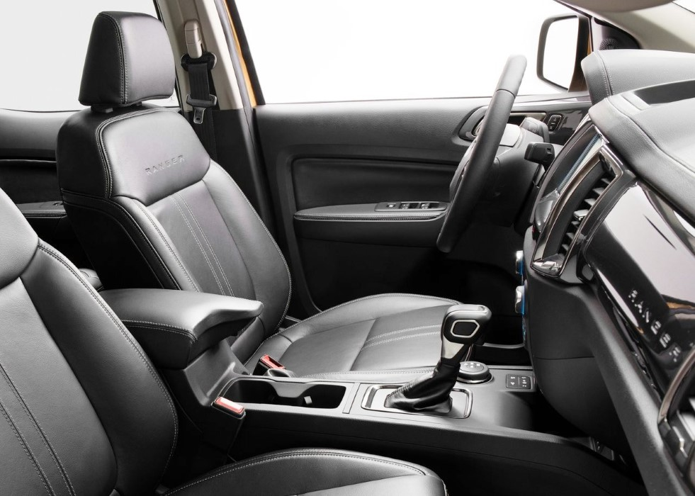 2019 Ford Ranger USA Interior Images