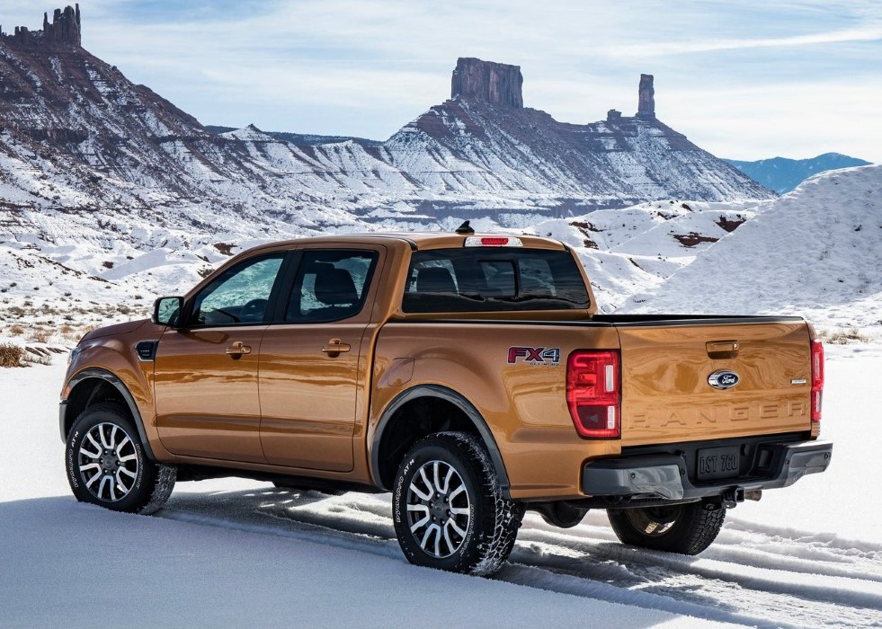 2019 Ford Ranger USA Regular Cab