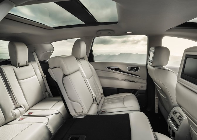 2019 Infiniti QX60 Interior Changes