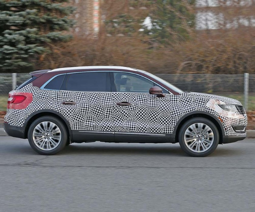 2019 Lincoln Aviator Spied Pictures
