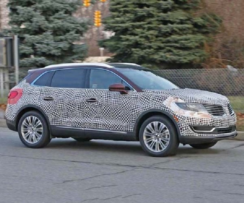 2019 Lincoln Aviator Spy Photos