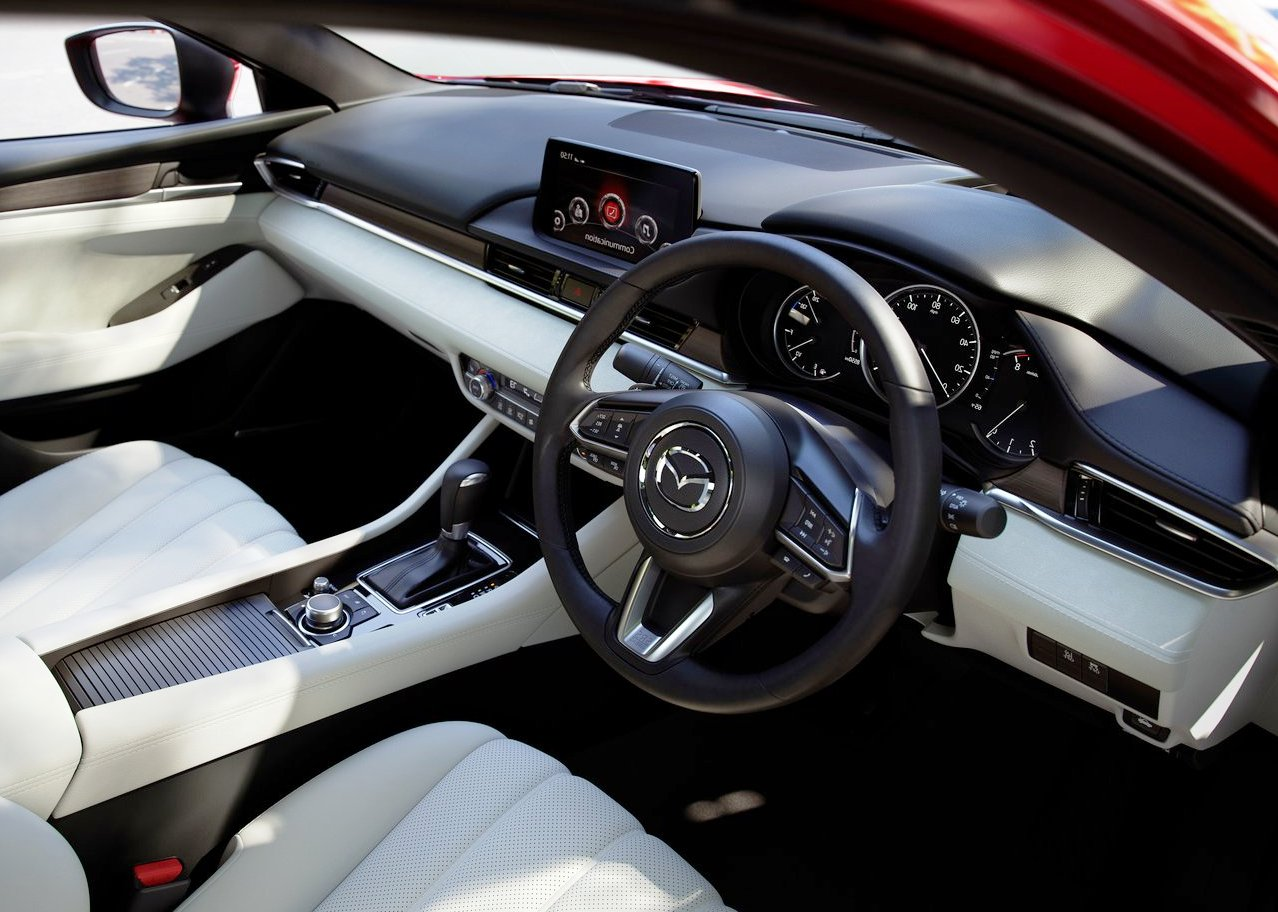 2019 Mazda 6 Interior Facelift