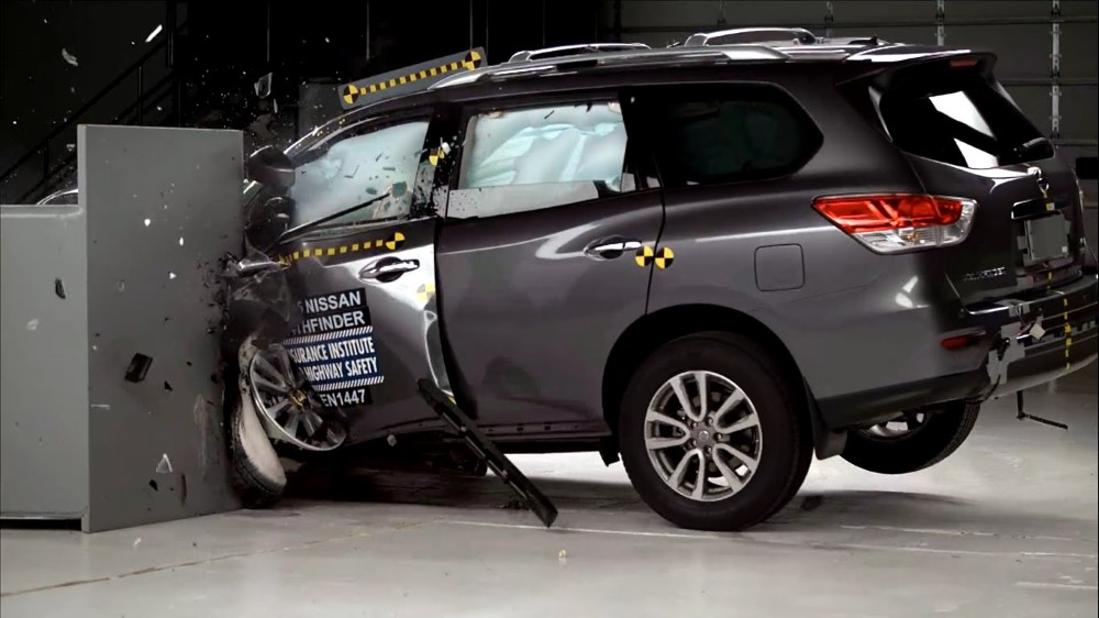 2019 Nissan Pathfinder Crash Test Point