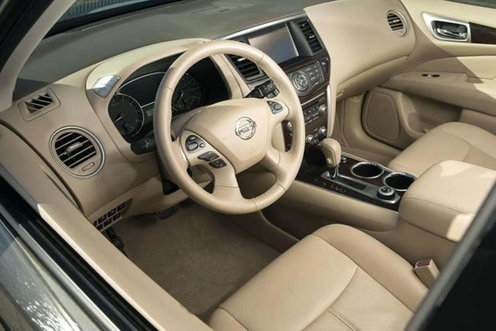 2019 Nissan Pathfinder Leather Interior