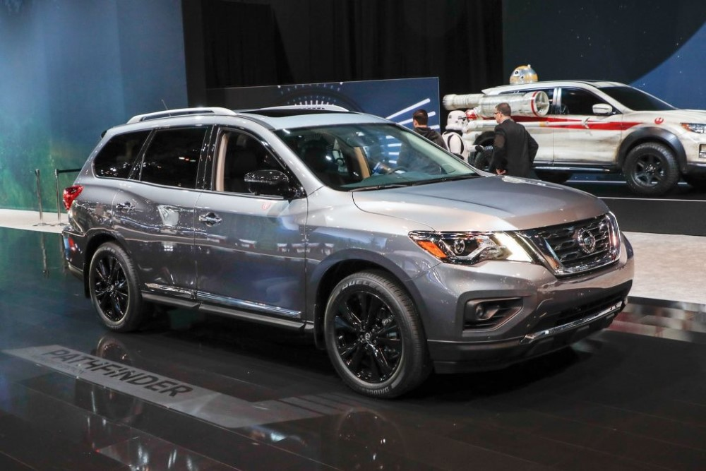 2019 Nissan Pathfinder Platinum Exterior Changes