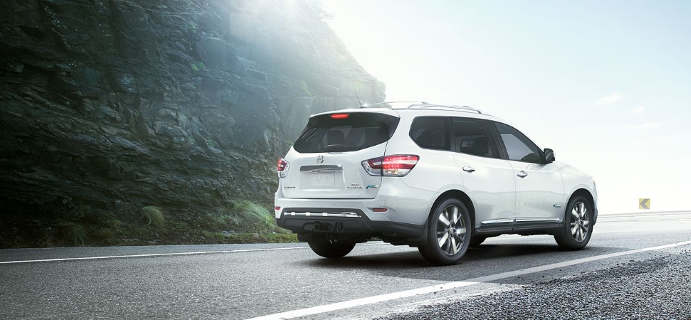 2019 Nissan Pathfinder White Color