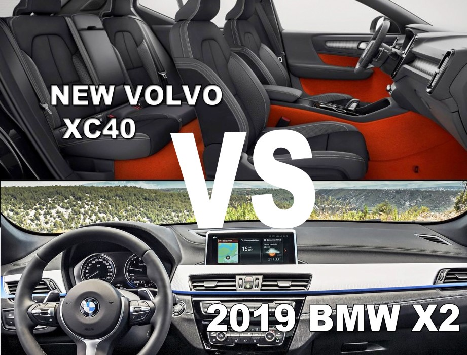 2019 BMW X2 20i sDrive VS Volvo XC40; INTERIOR