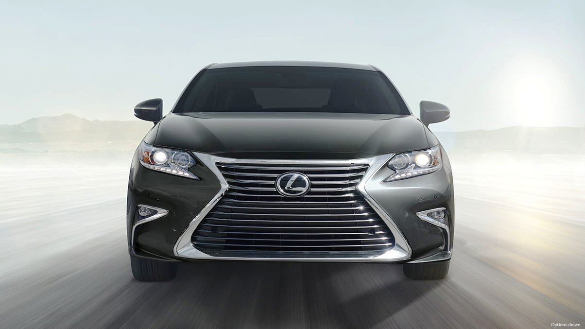 2019 lexus es 350 hybrid redesign front angle automotive car news. Black Bedroom Furniture Sets. Home Design Ideas