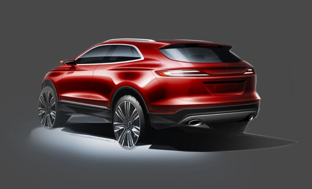 2019 Lincoln MKC Color and New Name