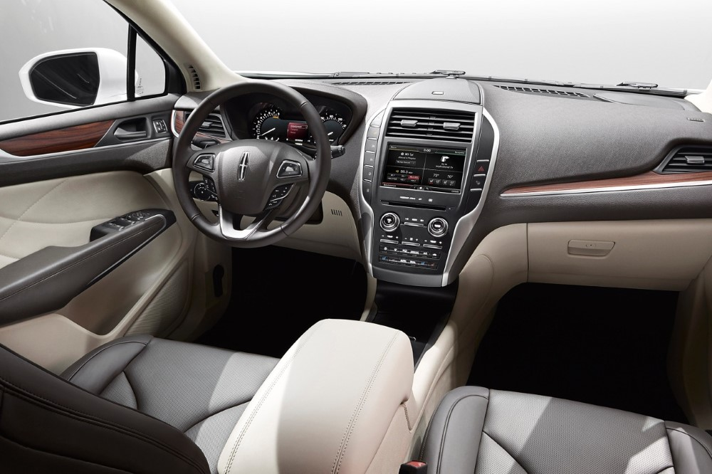 2019 Lincoln MKC Hybrid Interior New System