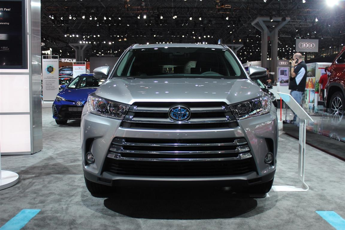 2019 Toyota Highlander Hybrid Redesign and Updates