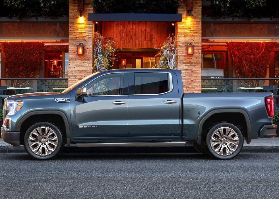 2020 GMC Sierra HD 1500 Dimensions