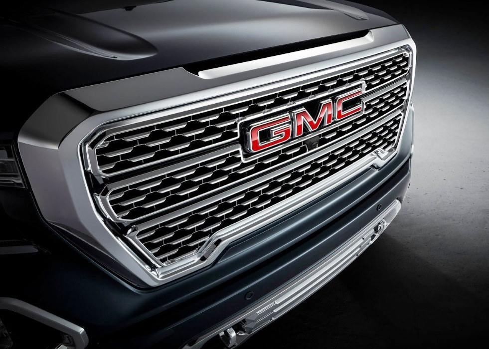 2020 GMC Sierra Redesign Exterior; New Grill