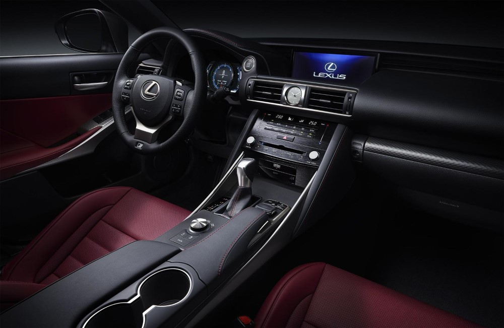 2020 Lexus RC 300h Interior Updates