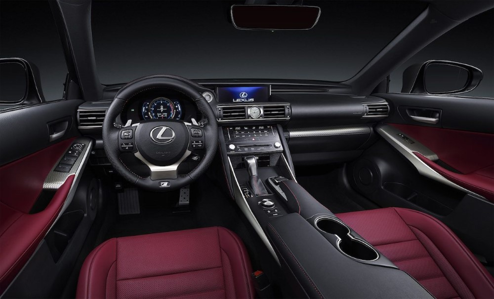 2020 Lexus RC 300h Redesign Interior
