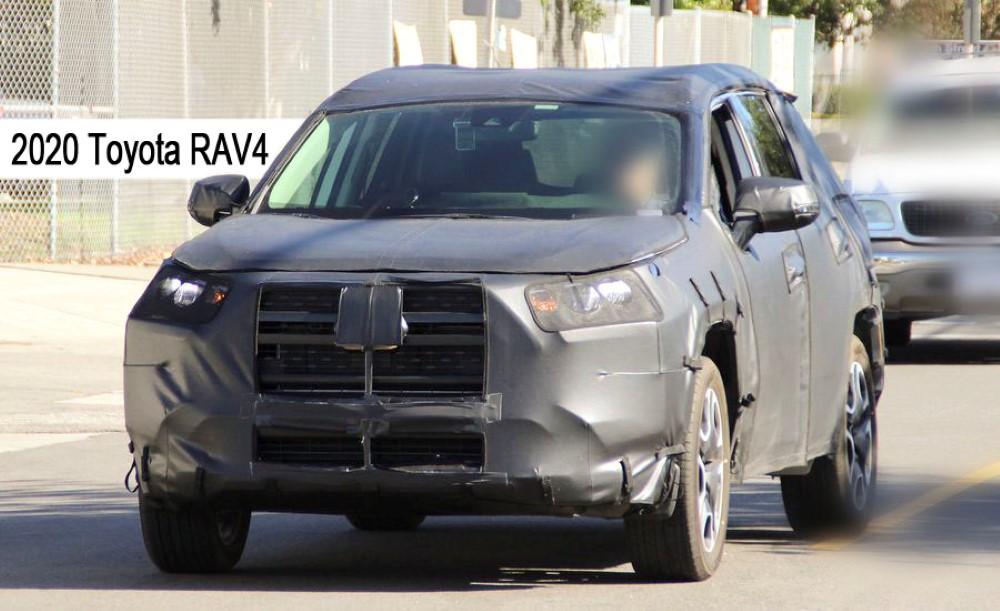 2020 Toyota RAV4 Spy Photos