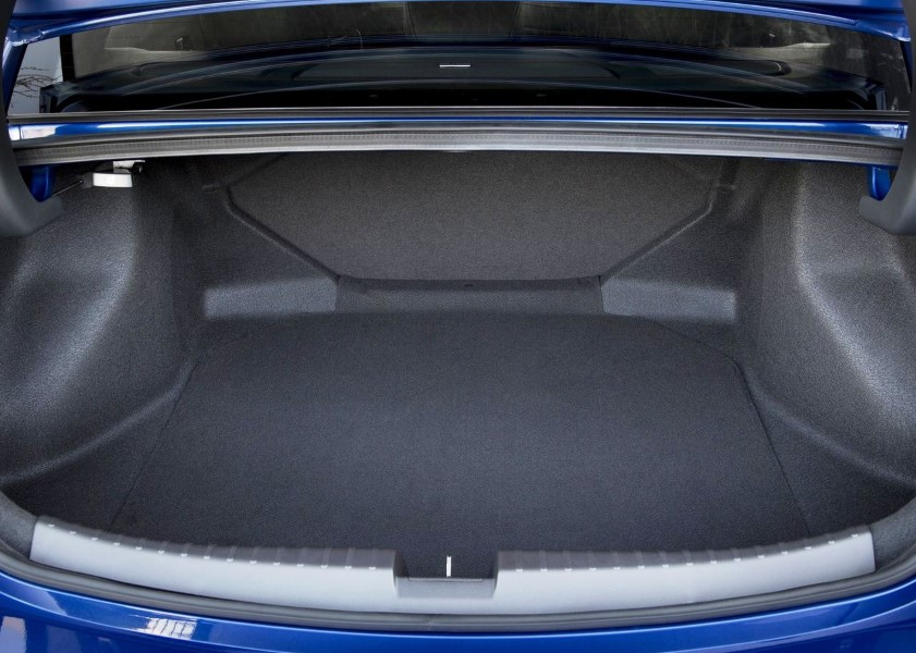 2020 Acura ILX Dimensions - Trunk Capacity