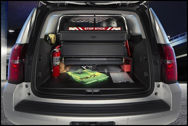 2020 Chevy Tahoe Trunk Space SUV