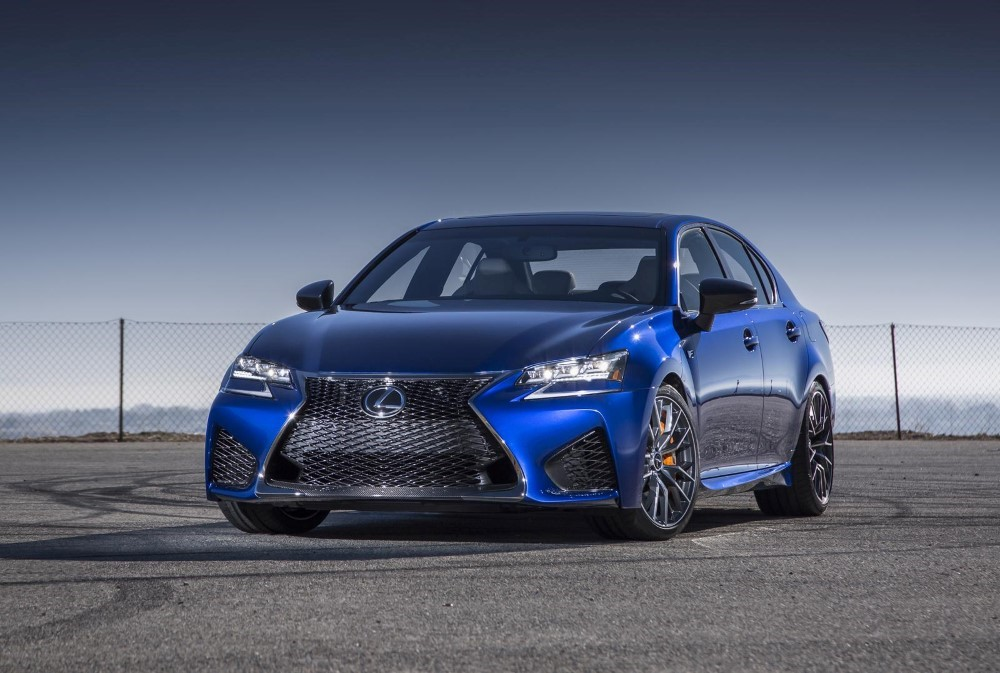 2020 Lexus GS 350 F Sport Blue Colors