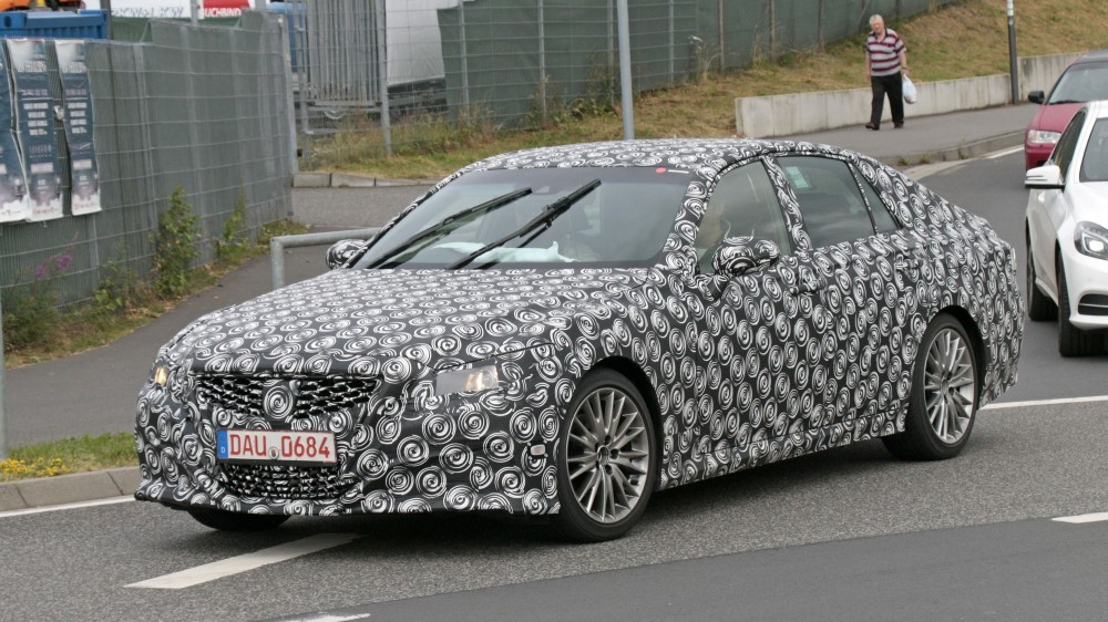 2020 Lexus GS Spy Pictures