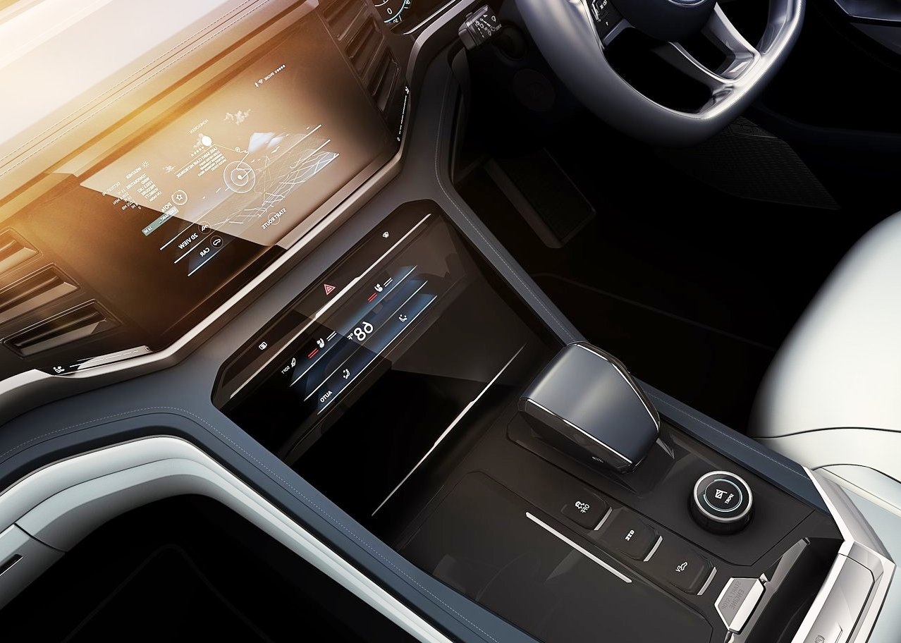 2020 VW Atlas Cross Sport Interior Technology