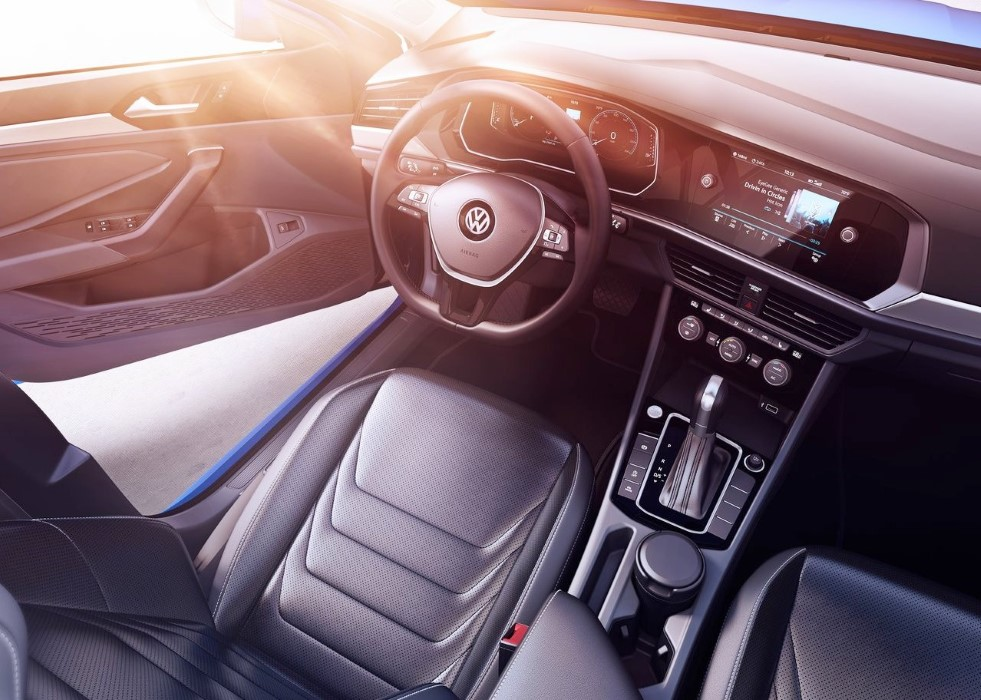 2020 VW Jetta Interior New Features