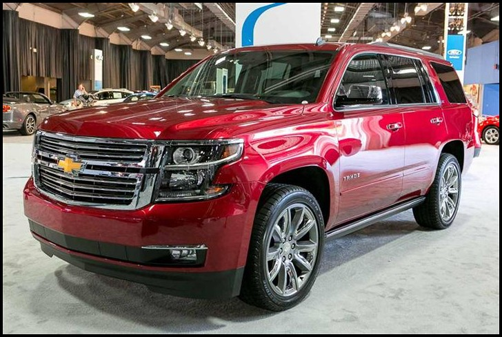 New SUV 2020 Cevrolet Tahoe Colors RED