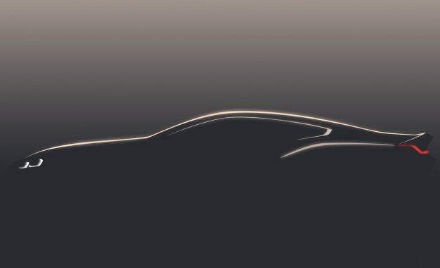 2020 BMW 8-Series Teaser Leakd
