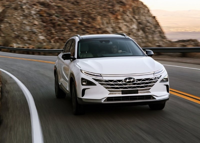 2020 Hyundai Nexo Battery Range