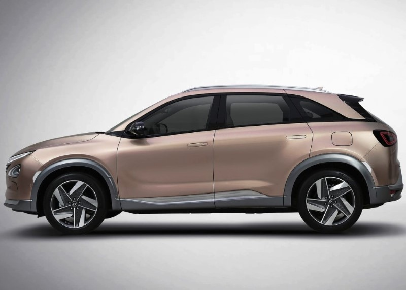 2020 Hyundai Nexo Dimensions 7 Seater Electric SUV