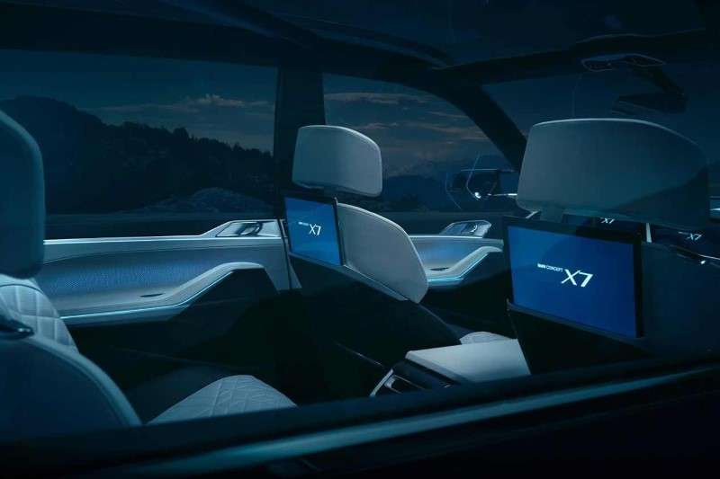 2020 BMW X7 Interior Concept Dimensions