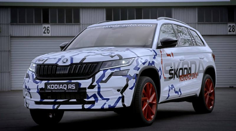 2020 Skoda Kodiaq RS; Best 3rd Row SUVs