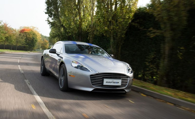 2019 Aston Martin RapidE E Battery Range
