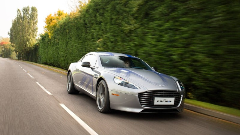 2019 Aston Martin RapidE E Release Date and Price