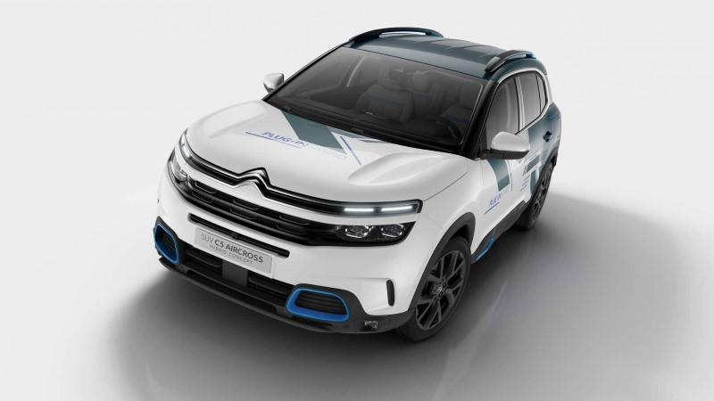 2019 Citroen C5 Aircross Hybrid Gas Mileage