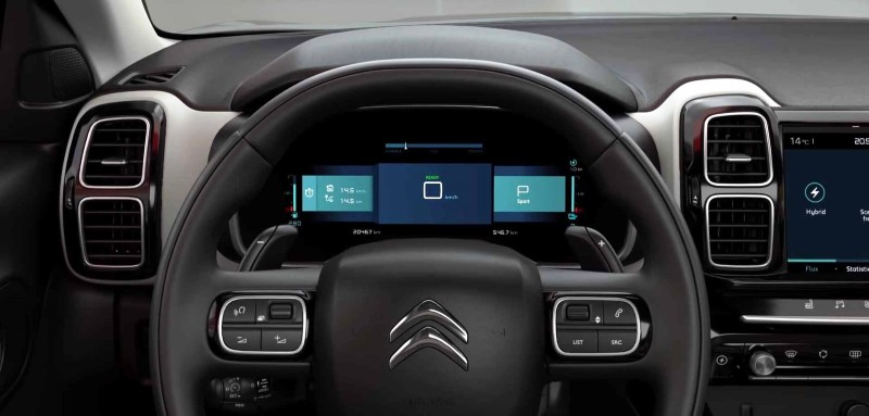 2019 Citroen C5 Aircross Hybrid Interior Instrument & Assist