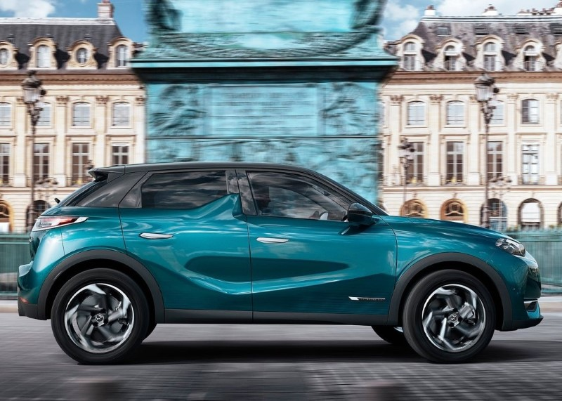 2020 DS3 Crossback Dimensions