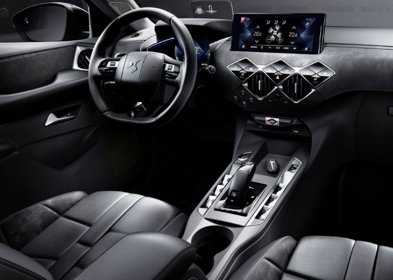 2020 ds3 crossback interior features automotive car news. Black Bedroom Furniture Sets. Home Design Ideas