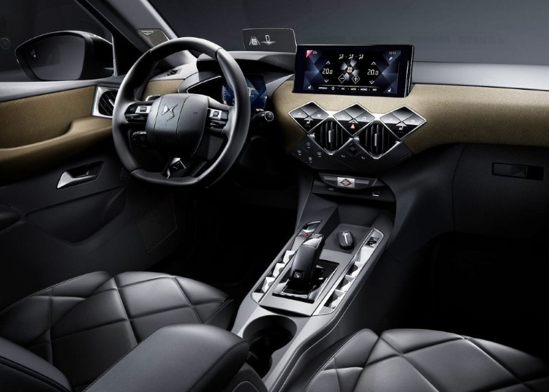 2020 DS3 Crossback Interior Volume
